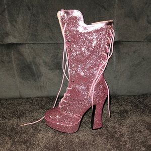 Sexy Pink Bootie